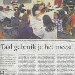 In de Gelderlander voor Stichting B.O.E.K.