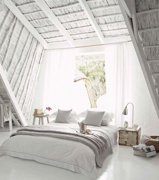 huis inspiratie scandinavische slaapkamers mariekevanwoesik