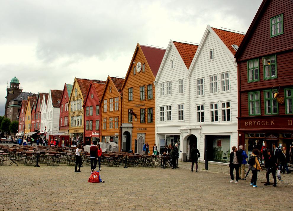 NOORWEGEN | De kleurrijke havenstad Bergen